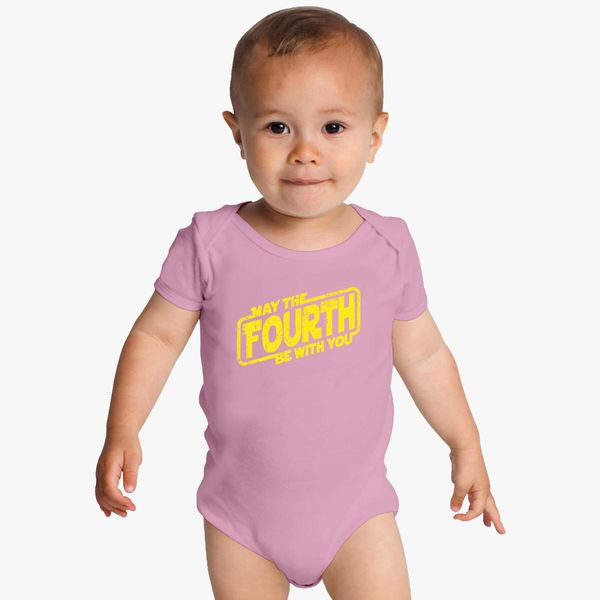 May The Fourth Be With You Baby Shower: May The Fourth Be With You Baby Onesies