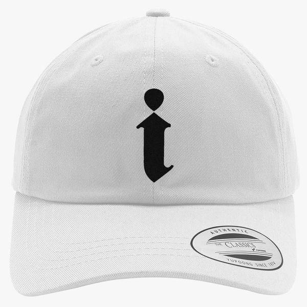 efe5360bf4dea Kendrick Lamar Cap i Logo Cotton Twill Hat (Embroidered) - Customon