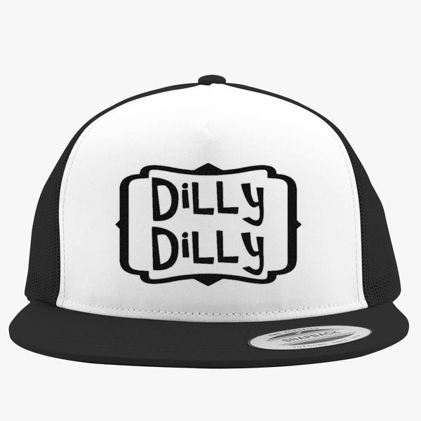 64a2fecd dilly dilly Trucker Hat (Embroidered) - Customon