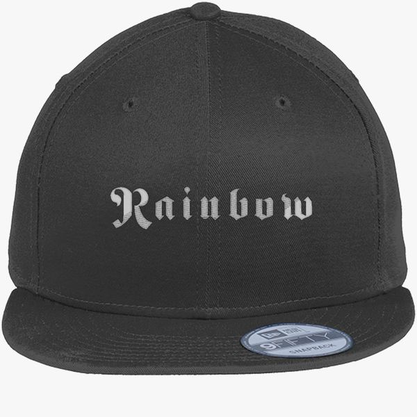 Ritchie Blackmore Rainbow New Era Snapback Cap (Embroidered ... d4e52ae595d