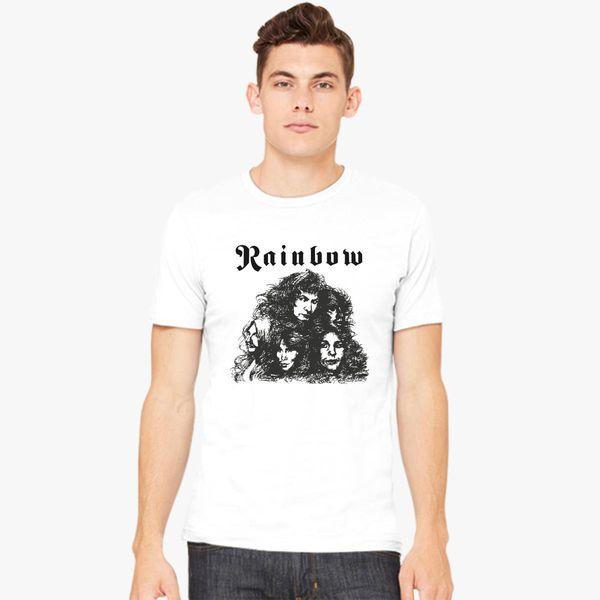 3485ca328 Ritchie Blackmore Rainbow Long Live Rock n Roll Men's T-shirt ...