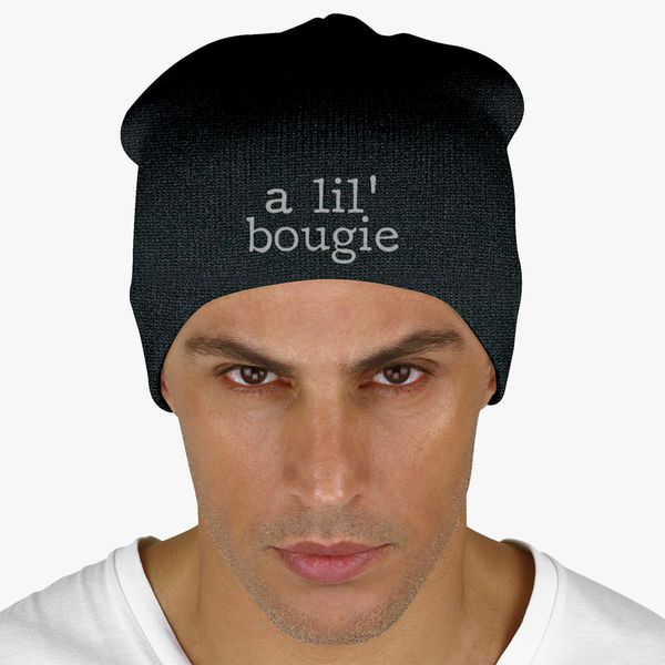 16d61f8c4e5 A Lil  Bougie Knit Beanie (Embroidered) - Customon