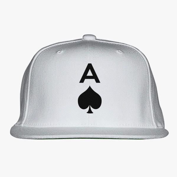 Ace Of Spades Snapback Hat (Embroidered)  eb75e44e29a