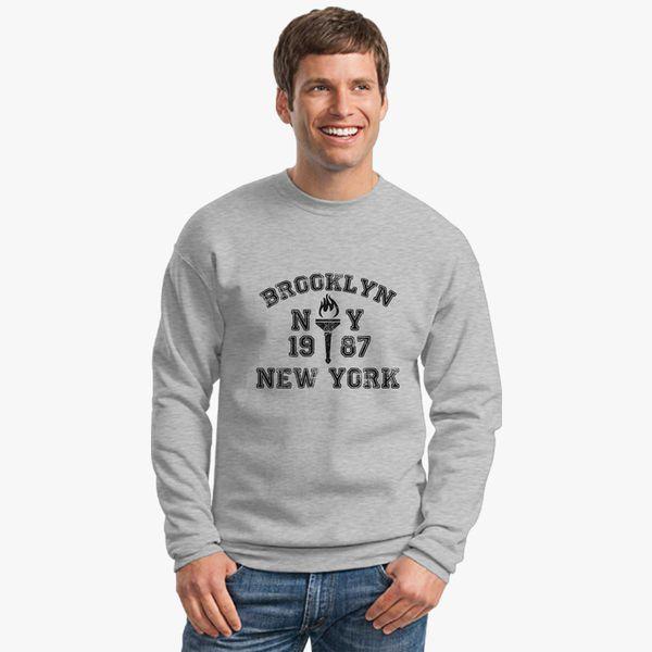 c4bd4ddc0 BROOKLYN-NEW-YORK Crewneck Sweatshirt - Customon