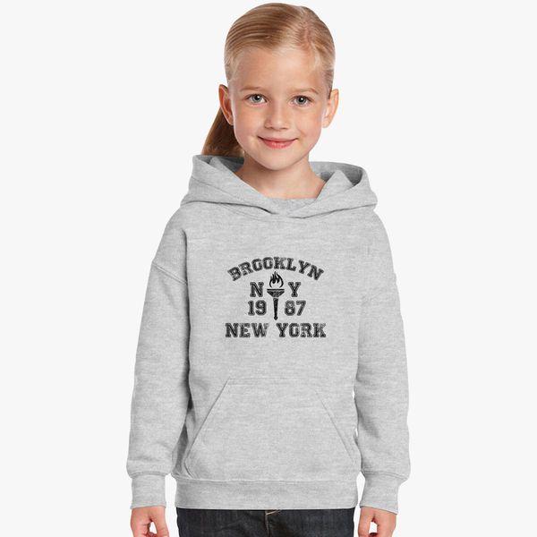 df30e0158 BROOKLYN-NEW-YORK Kids Hoodie - Customon