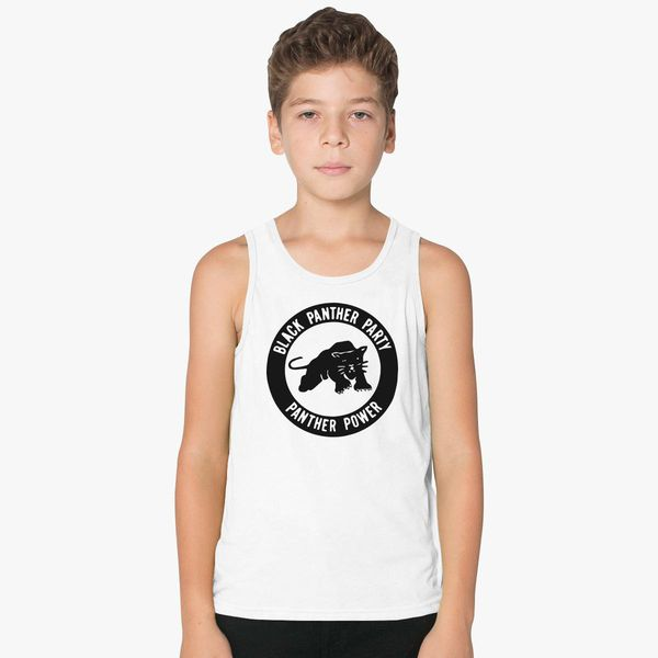 Black Panther All Over Adult Tank Top