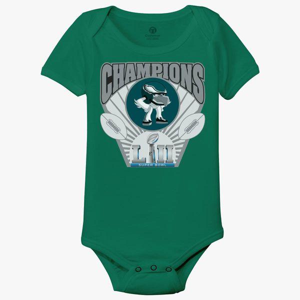 76c730b97 Champions Philly Eagles Baby Onesies - Customon