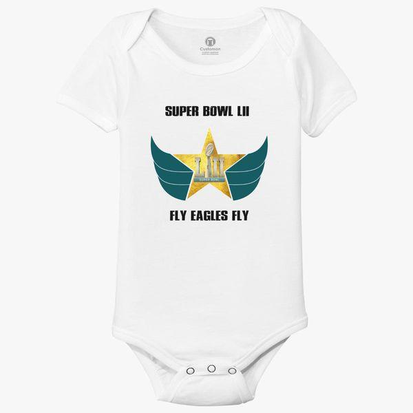 47739bb58 Fly Eagles Fly Baby Onesies - Customon