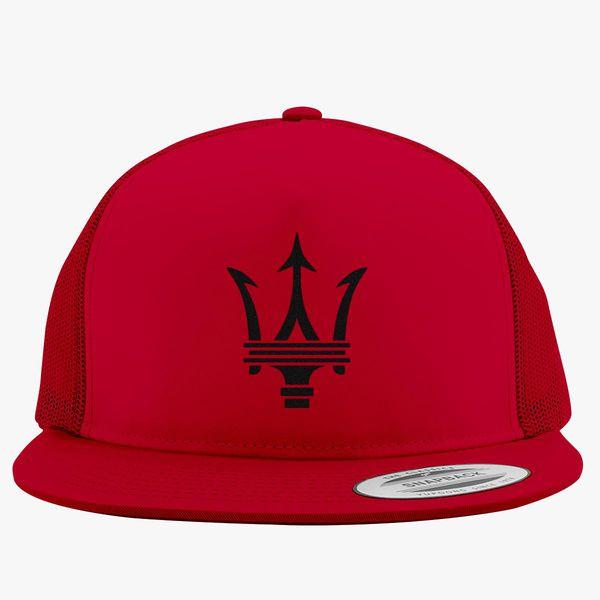 Maserati Trucker Hat - Embroidery Change style 821dbf39b68e