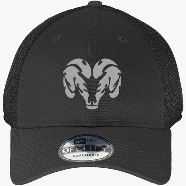 DODGE Trucker Mesh Baseball Cap Embroidered Auto Logo Adjustable Hat Mens Womens