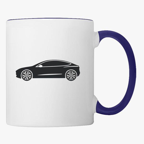 Tesla Car Coffee Mug Customon
