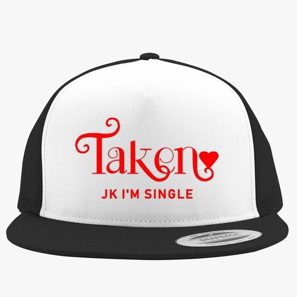Funny Best Friends Valentine Trucker Hat (Embroidered) - Customon