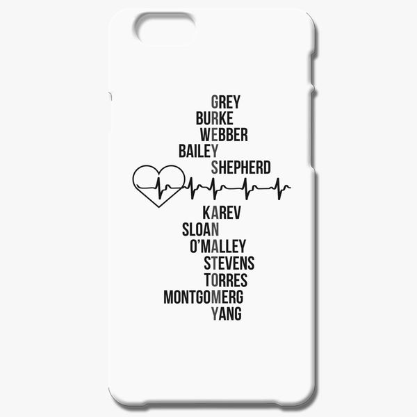 premium selection feec2 5b4be Dr. Greys Anatomy iPhone 6/6S Case - Customon