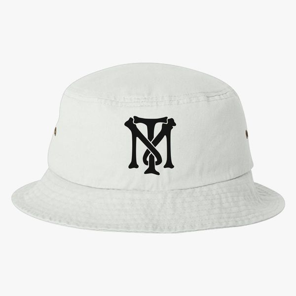 Scarface Tony Montana Bone Logo Bucket Hat (Embroidered) - Customon