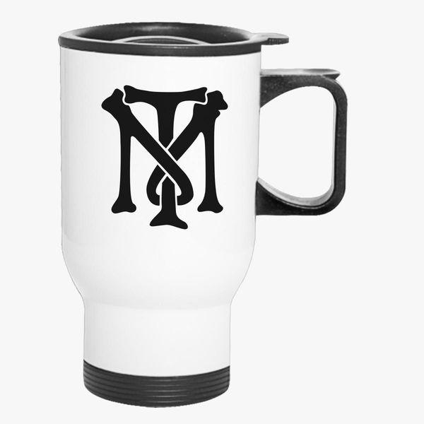 Scarface Tony Montana Bone Logo Travel Mug Customon