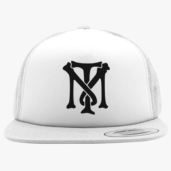 Scarface Tony Montana Bone Logo Foam Trucker Hat - Customon