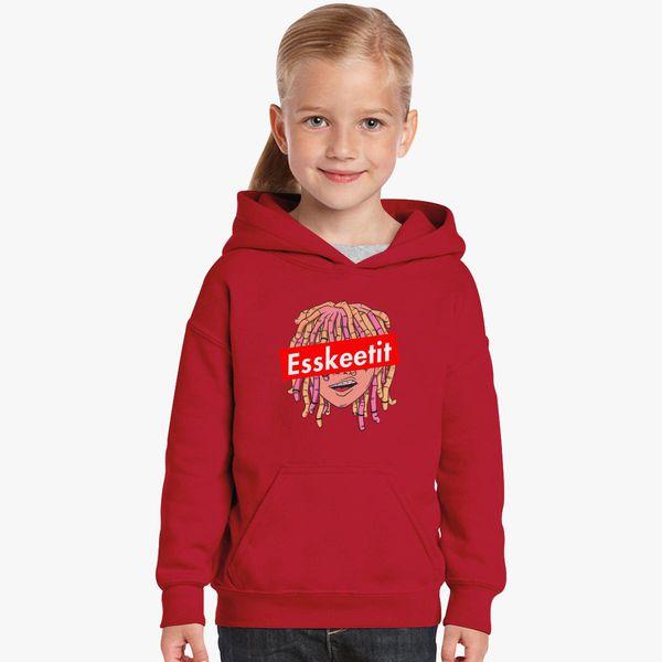 7fbf898c2ee5 Lil Pump Esskeetit Kids Hoodie - Customon