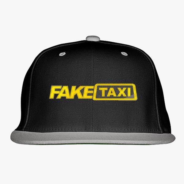 b7bcc7a29 Fake Taxi Logo Snapback Hat (Embroidered) - Customon