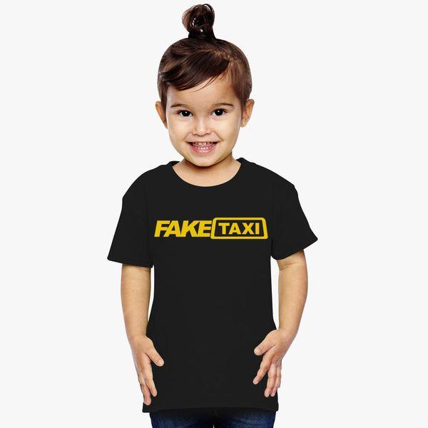 Fake Taxi Logo Toddler T-shirt - Customon