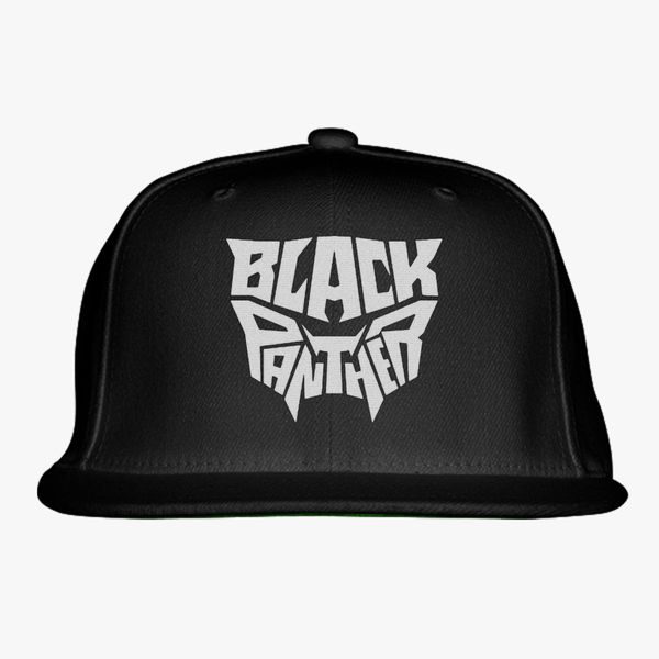 f26cbb64ea37a black panther Snapback Hat (Embroidered) - Customon