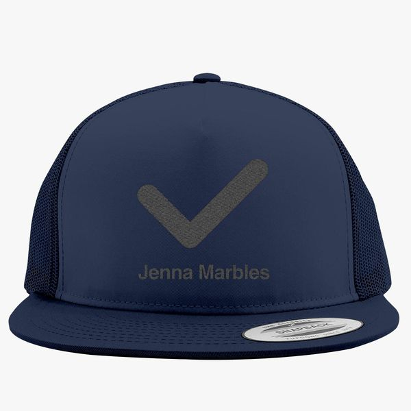 336b4a66448 jenna marbles Trucker Hat (Embroidered) - Customon