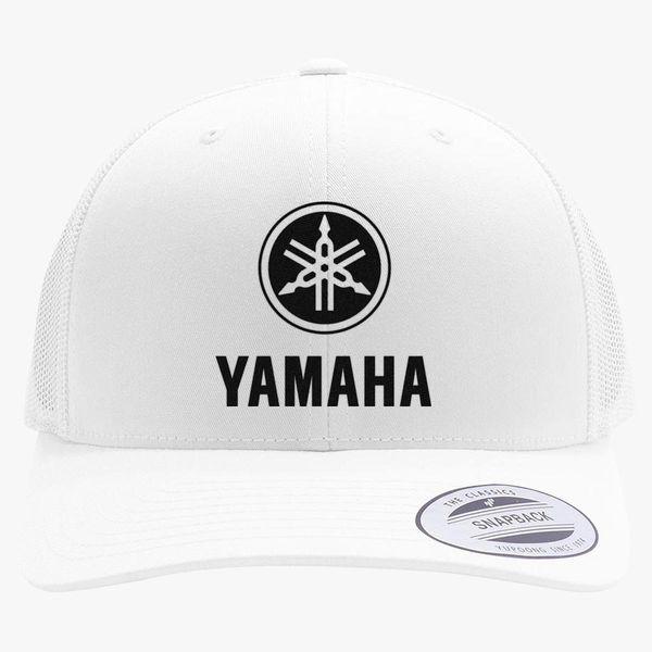 2c9100bb03e73 Yamaha Logo Retro Trucker Hat (Embroidered) - Customon