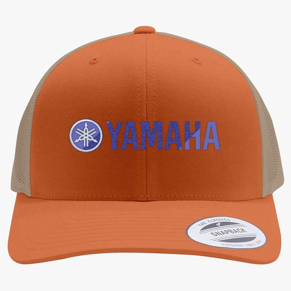10c7e5a3 Yamaha Logo Retro Trucker Hat (Embroidered) - Customon