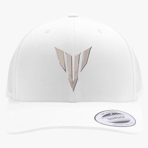 9437468b Yamaha MT Logo Retro Trucker Hat (Embroidered) - Customon