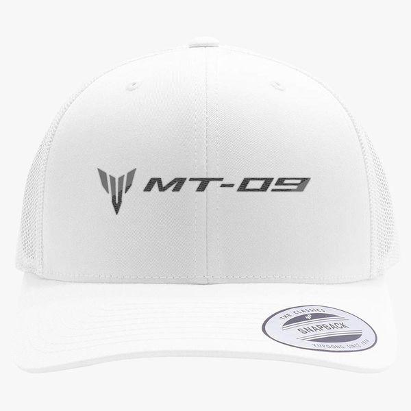 bd1533ae Yamaha MT-09 Retro Trucker Hat (Embroidered) - Customon