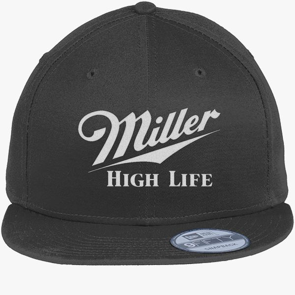 e8d22298333a6 Miller High Life New Era Snapback Cap (Embroidered) - Customon