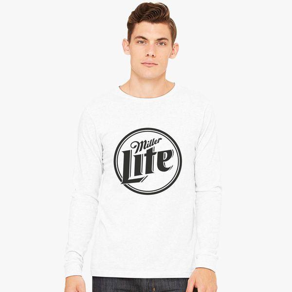 2eb1d71e97 Miller Lite Long Sleeve T-shirt - Customon