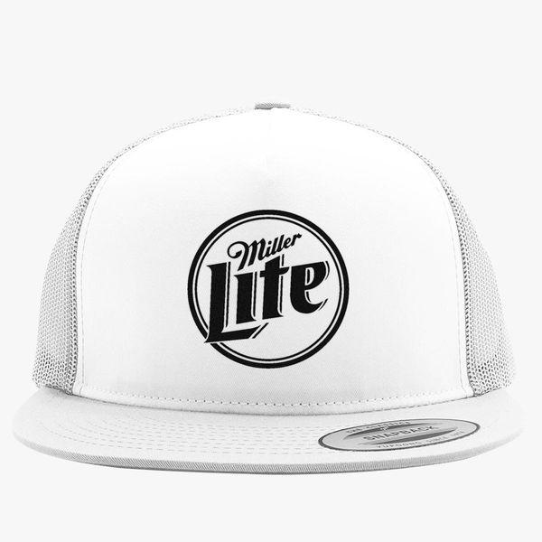 9b4d42385f4e3 Miller Lite Trucker Hat (Embroidered) - Customon