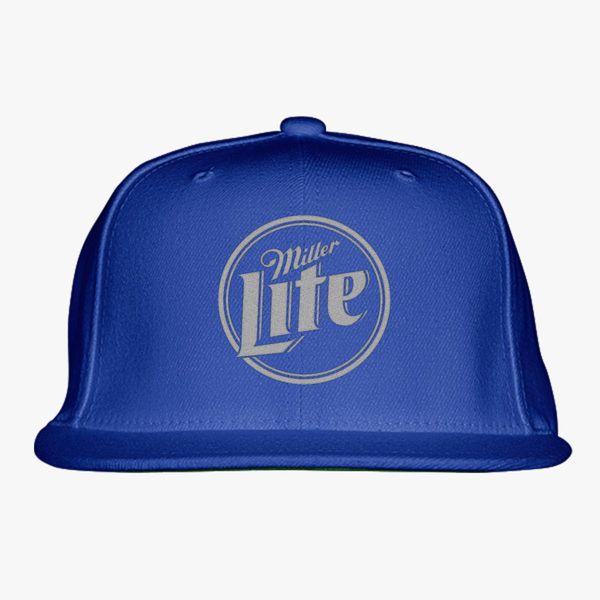 d1dbcf280c Miller Lite Snapback Hat (Embroidered) - Customon