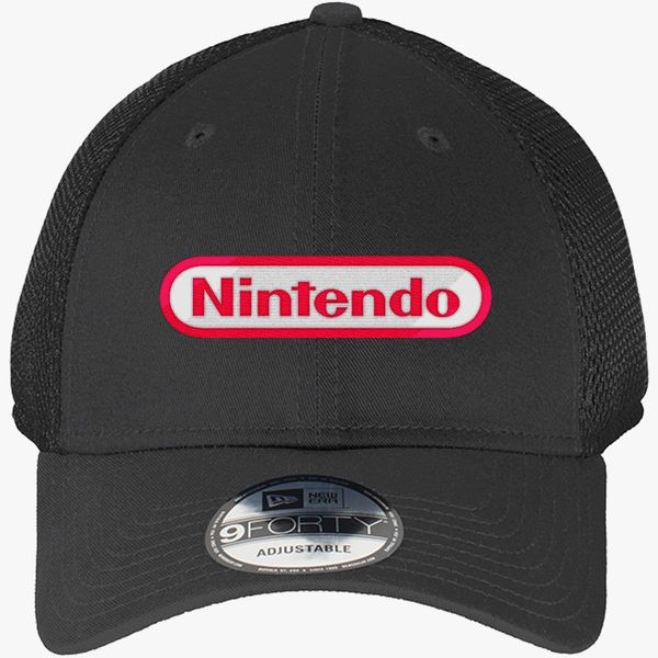 87d4065ecd Nintendo Logo New Era Baseball Mesh Cap (Embroidered) - Customon