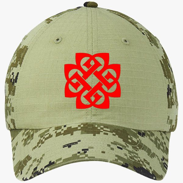 e69dcdeb496 Breaking Benjamin Colorblock Ouflage Cotton Twill Cap