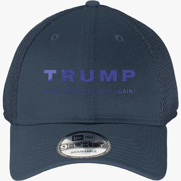 ac0d790e Trump Make America Great Again New Era Baseball Mesh Cap - Embroidery