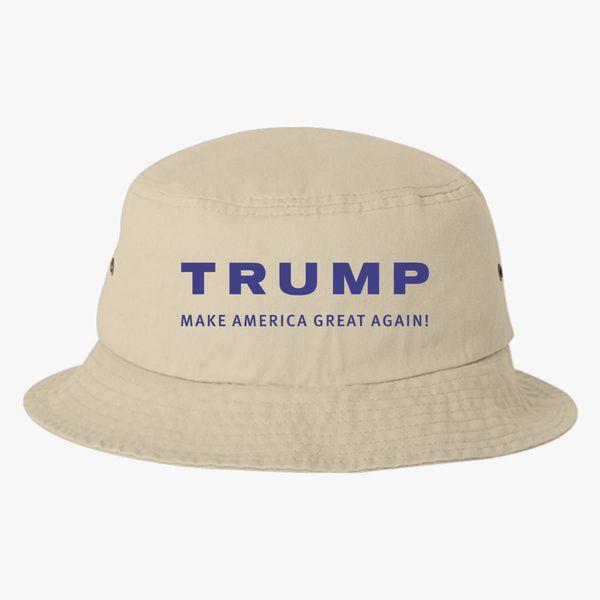 8fc46086e Trump Make America Great Again Bucket Hat (Embroidered) - Customon