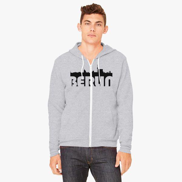 Buy BERLIN Unisex Zip-Up Hoodie, 131117
