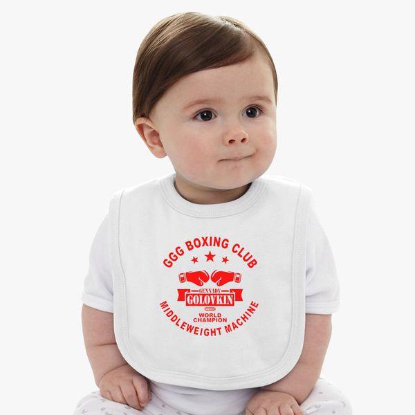 ee3cf73f Gennady Golovkin GGG Boxing Club Baby Bib - Customon