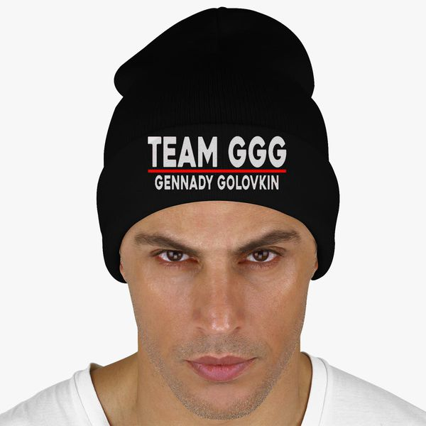 Team GGG Gennady Golovkin Knit Cap (Embroidered)  61d06fc1ce8d