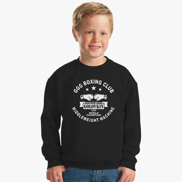 77bb3b45 Gennady Golovkin GGG Boxing Club Kids Sweatshirt - Customon