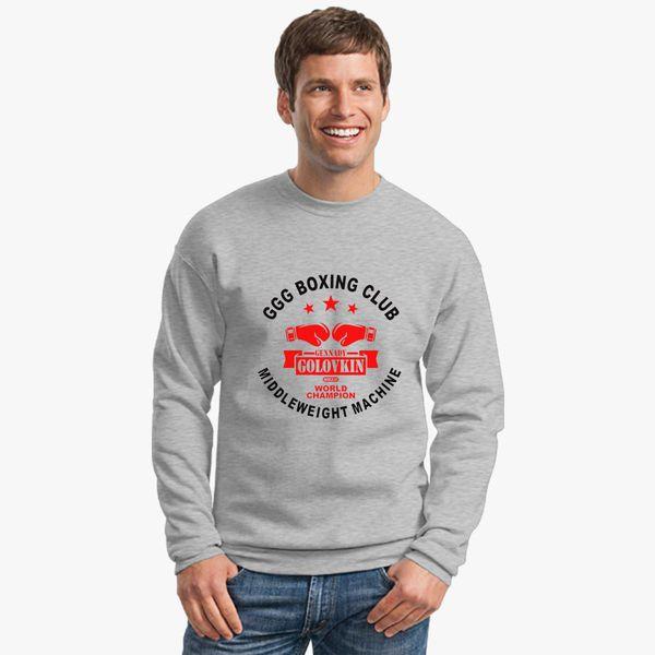 96758838 Gennady Golovkin GGG Boxing Club Crewneck Sweatshirt - Customon