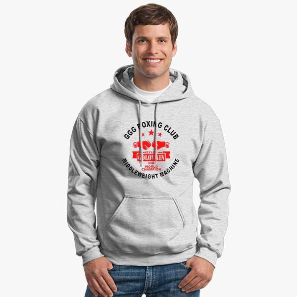 8321f0b7db6f8e Gennady Golovkin GGG Boxing Club Unisex Hoodie - Customon