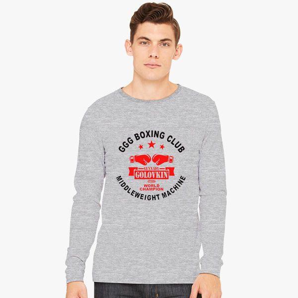 edc65d28 Gennady Golovkin GGG Boxing Club Long Sleeve T-shirt - Customon