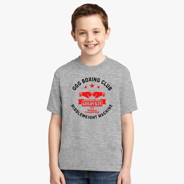678eaf39 Gennady Golovkin GGG Boxing Club Youth T-shirt - Customon