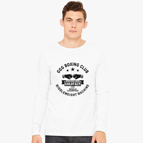 17e0beb43a9 Gennady Golovkin GGG Boxing Club Long Sleeve T-shirt - Customon