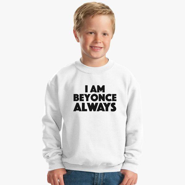 bba589abc Michael Scott - The Office - I am Beyonce Always Kids Sweatshirt ...