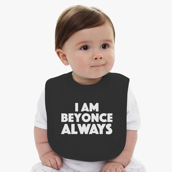0595966c3 Michael Scott - The Office - I am Beyonce Always Baby Bib | Customon.com