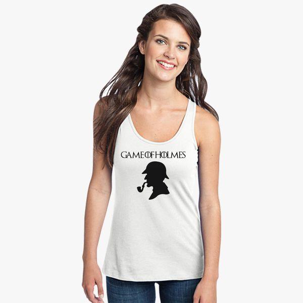 Buy Game Holmes Women's Racerback Tank Top, 13223