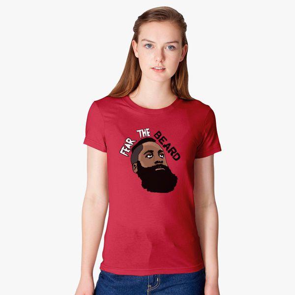 2f621a61c4bf James Harden Fear The Beard Women s T-shirt - Customon
